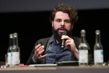 "Pedro Oliveira at ""Singularities"", transmediale 2017"