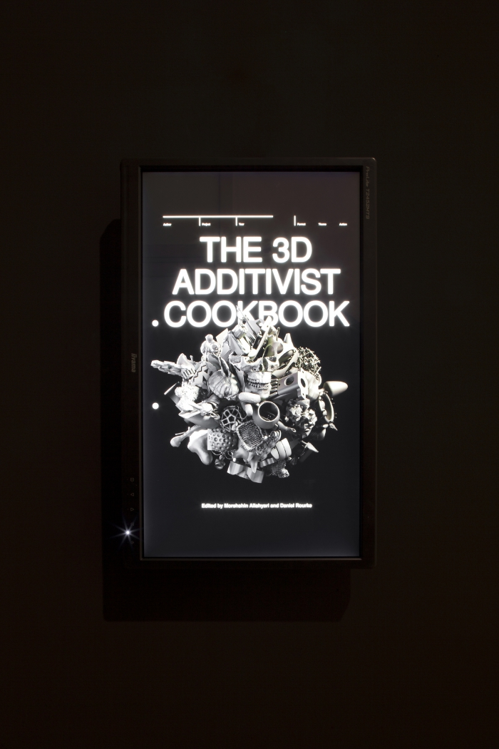 The 3D Additivist Cookbook by Morehshin Allahyari and Daniel Rourke