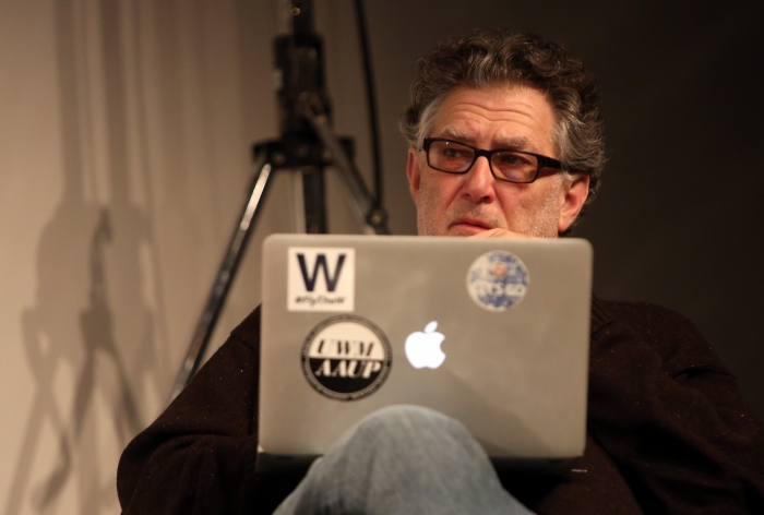 "Richard Grusin at ""Middle Session: The Elemental Middle"", transmediale 2017"
