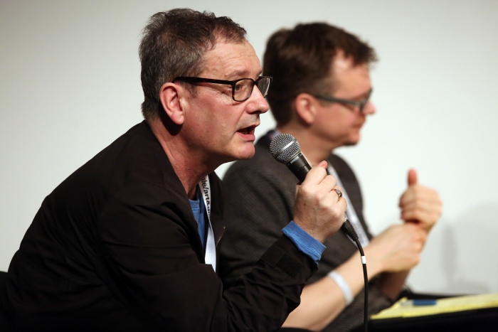 "Geoff Cox at ""Machine Research – Infrastructures"", transmediale 2017"