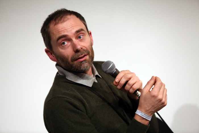 "Theun Karelse at ""Becoming Earth: Engineering Symbiotic Futures"", transmediale 2017"