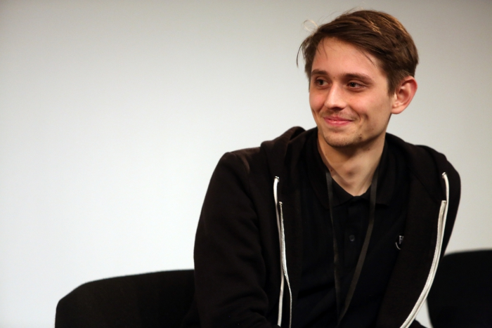 "Paul Seidler at ""Becoming Earth: Engineering Symbiotic Futures"", transmediale 2017"