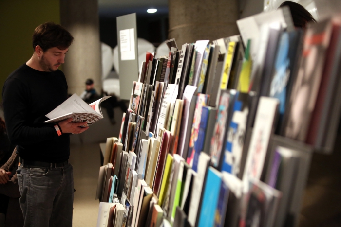 Temporary Library, transmediale 2017