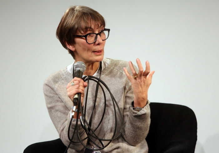 "Marie-Luise Angerer at ""Material Flows: Rafts and Bodies at Sea"", transmediale 2017"