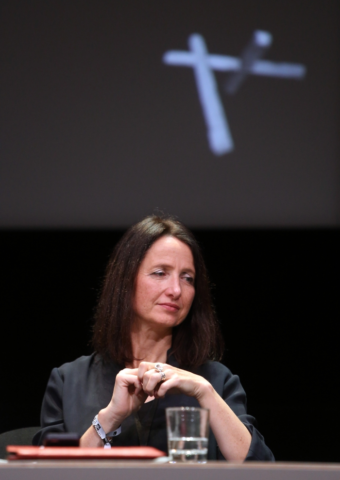"Natalie Fenton at ""Friendly Fire: What Is It to Re-think Radical Politics, Today?"", transmediale 2017"