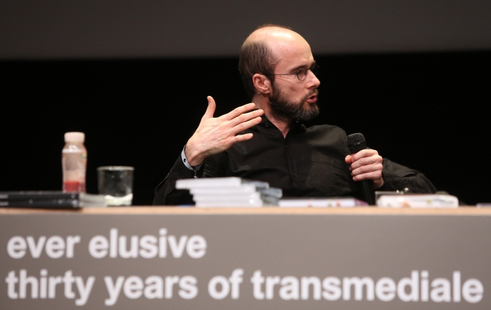 "Krystian Woznicki at ""Friendly Fire: What Is It to Re-think Radical Politics, Today?"", transmediale 2017"