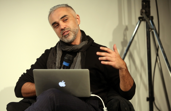 "Adrian Lahoud at ""Mediterranean Tomorrows"", transmediale 2017"