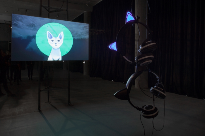 """Artificial Intelligence for Governance, the Kitty AI by Pinar Yoldas at """"alien matter"""""""
