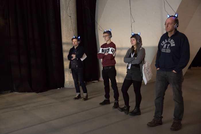 "Artificial Intelligence for Governance, the Kitty AI by Pinar Yoldas at ""alien matter"", transmediale 2017"