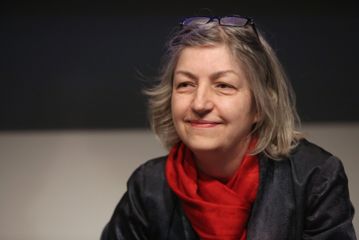 """Friederike Anders at """"Technology Languages of the Past, Present, and Future"""", transmediale 2017 ever elusive."""