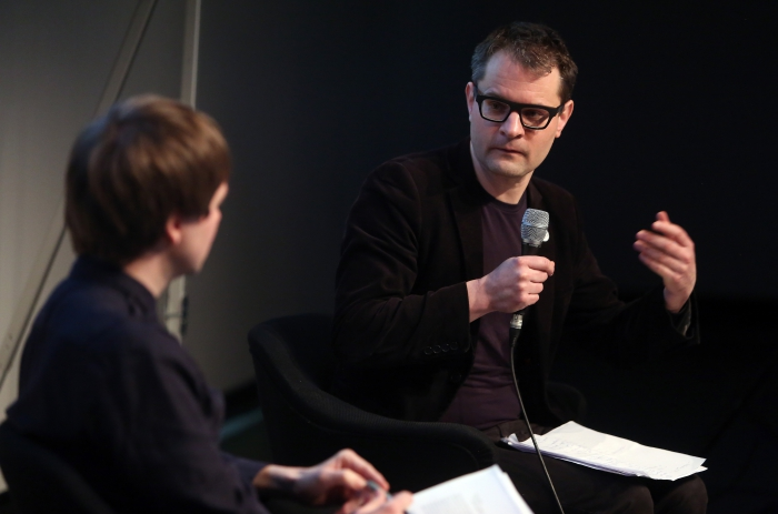 """Florian Cramer at """"Technology Languages of the Past, Present, and Future"""", transmediale 2017 ever elusive."""