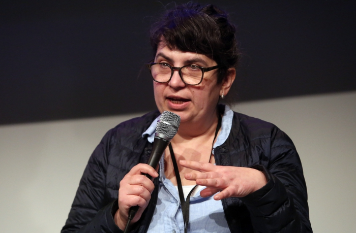 """Valie Djordjevic at """"Technology Languages of the Past, Present, and Future"""", transmediale 2017 ever elusive."""