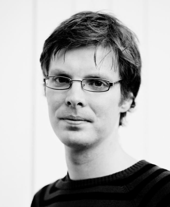 Portrait of Florian Sprenger.